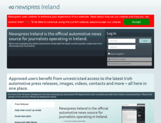 newspress.ie screenshot