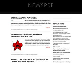 newsprf.blogspot.com.br screenshot