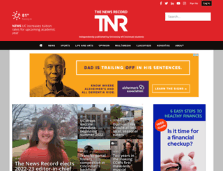 newsrecord.org screenshot