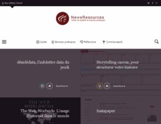 newsresources.org screenshot