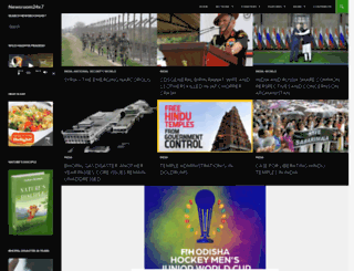 newsroom24x7.com screenshot