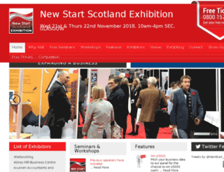 newstartscotland.com screenshot