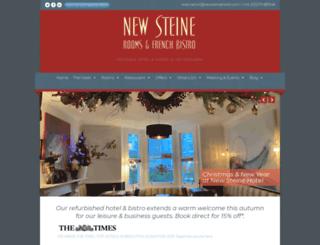 newsteinehotel.com screenshot