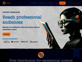 newstex.com screenshot