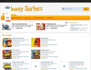 newsubwaysurfersgame.net screenshot