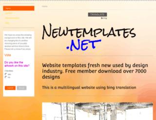 newtemplates.net screenshot