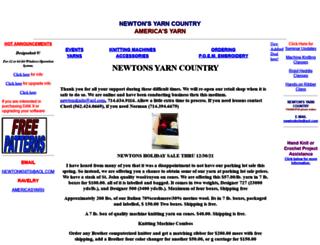 newtons.startlogic.com screenshot