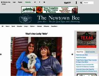 newtownbee.com screenshot