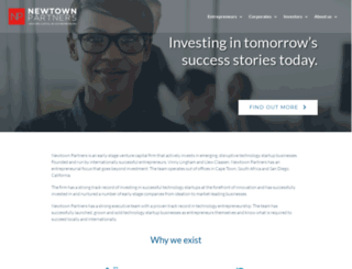 newtownpartners.com screenshot