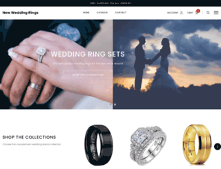 newweddingrings.com screenshot