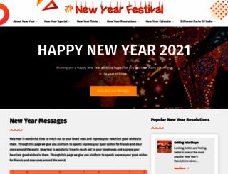 newyearfestival.com screenshot