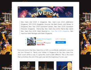 newyearsevesingapore.com screenshot