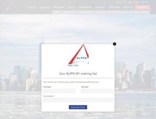 newyork.alpfa.org screenshot
