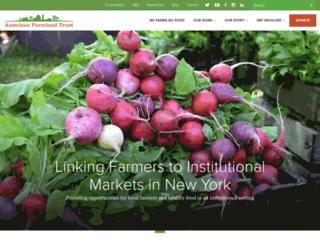 newyork.farmland.org screenshot