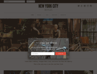 newyorkbicycles.myshopify.com screenshot