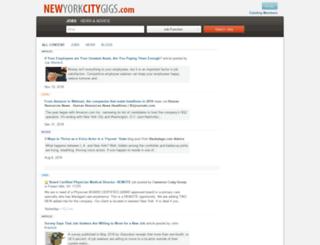 newyorkcitygigs.com screenshot
