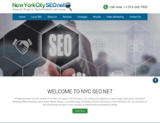 newyorkcityseo.net screenshot