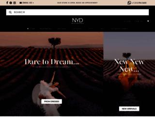 newyorkdress.com screenshot