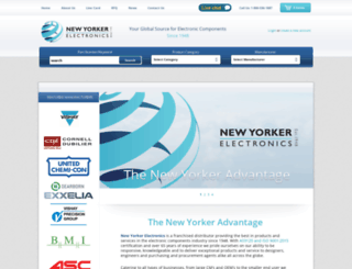 newyorkerelectronics.com screenshot
