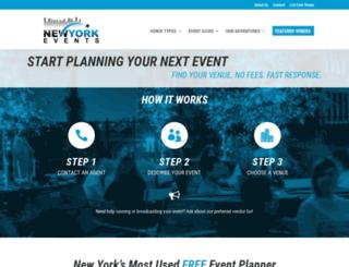newyorkevents.co screenshot