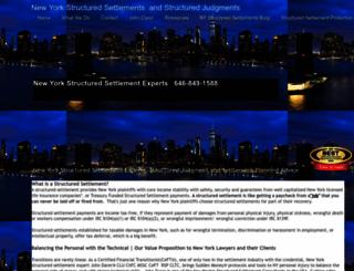 newyorkstructuredsettlements.com screenshot