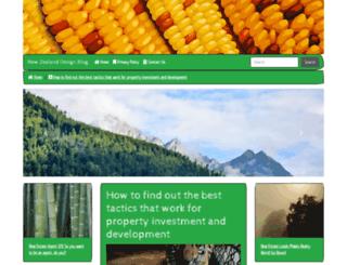 newzealanddesignblog.com screenshot