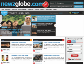 newzglobe.as screenshot