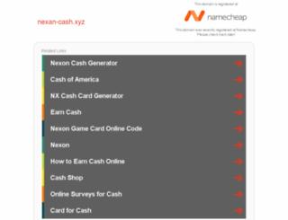 nexan-cash.xyz screenshot