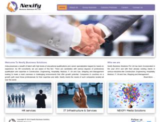 nexifyglobal.com screenshot