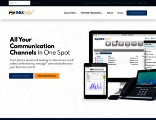 nexogy.com screenshot