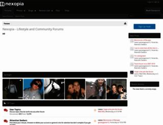 nexopia.com screenshot