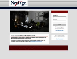 nextage.backagent.net screenshot