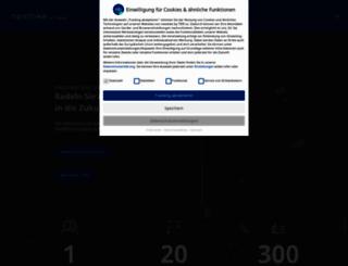 nextbike.net screenshot