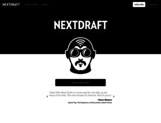 nextdraft.com screenshot