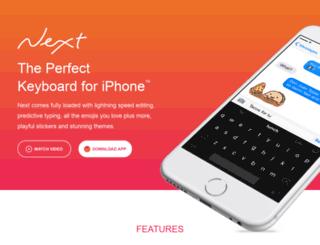 nextkeyboard.co screenshot