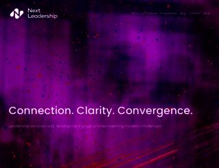 nextleadership.org screenshot