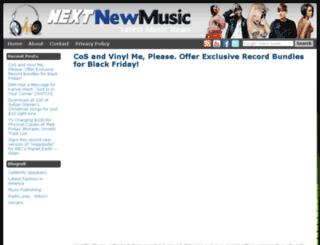 nextnewmusic.net screenshot
