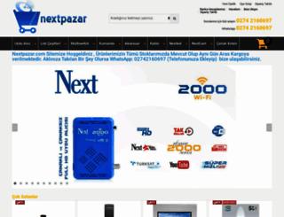 nextpazar.com screenshot