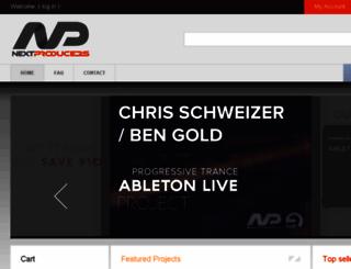 nextproducers.com screenshot