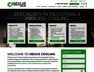 nexuscooling.co.uk screenshot