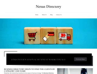 nexusdirectory.com screenshot