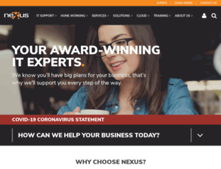 nexusopensystems.com screenshot