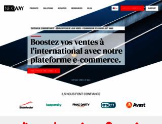 nexway.fr screenshot
