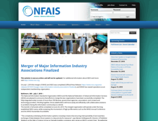 nfais.org screenshot