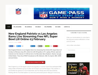 nfl-live-streaming.net screenshot