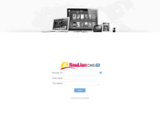 nflnoadmin.neulion.com screenshot