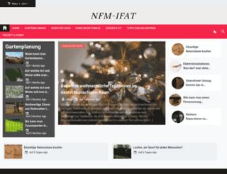 nfm-ifat.de screenshot
