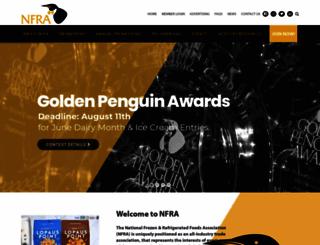 nfraweb.org screenshot