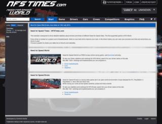 nfs-s.com screenshot