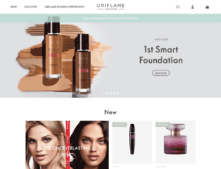 ng.oriflame.com screenshot